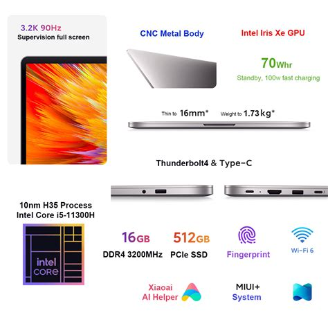 coupon sconto  xiaomi redmibook pro   laptop   intel core   intel xe