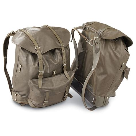 army backpacks for sale 3 used swiss backpacks olive drab 140914