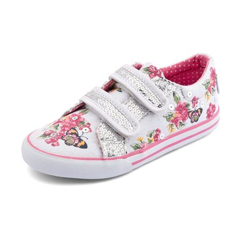 canvas shoes botanical s white sparkle canvas shoe