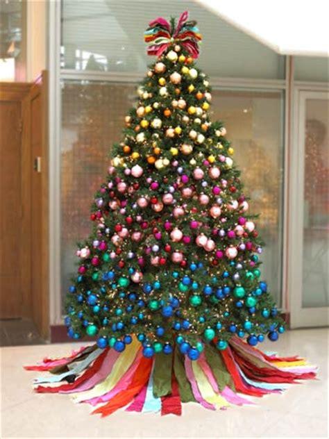 a festival of christmas trees