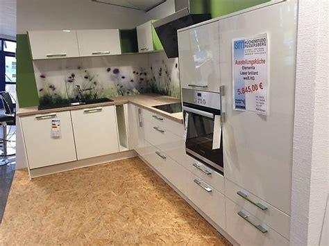 einbauküche billig k 252 che k 252 che wei 223 arbeitsplatte eiche k 252 che wei 223