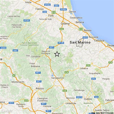 previsioni tempo bagno di romagna terremoto romagna oggi debole scossa fra verghereto