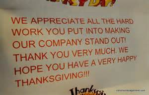 happy thanksgiving c s home office management