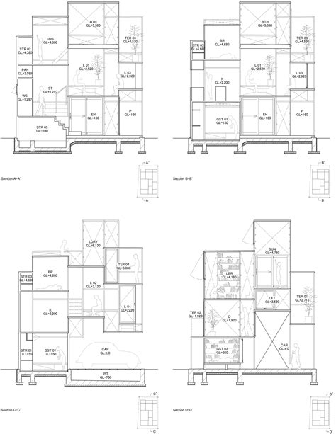 Floor Plan Elevation gallery of house na sou fujimoto architects 10