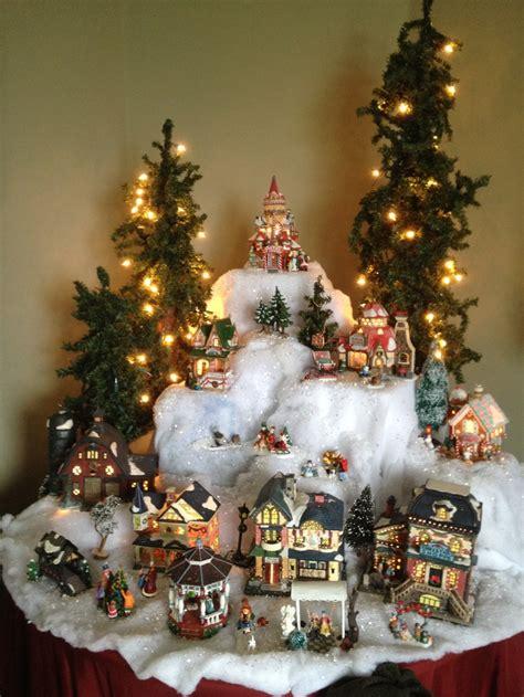 level christmas lights 18 best christmas village ideas images on pinterest