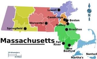 Massachusetts Map Towns by Resourcesforhistoryteachers 3 1