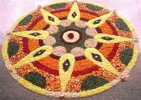 flower design in rangoli rangoli designs big beautiful flower rangoli