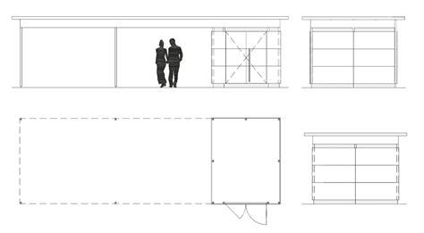 zeichnung carport carport holz beste qualit 228 t aus holz gartana