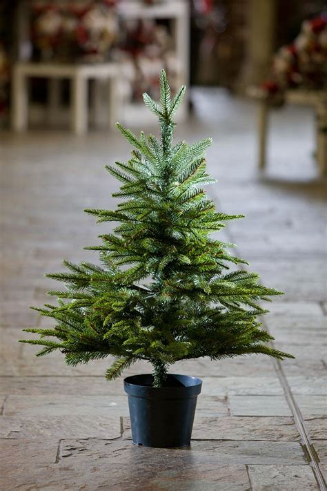 3ft everyday collections potted feel real artificial christmas tree collection 3 ft artificial trees pictures tree decoration ideas