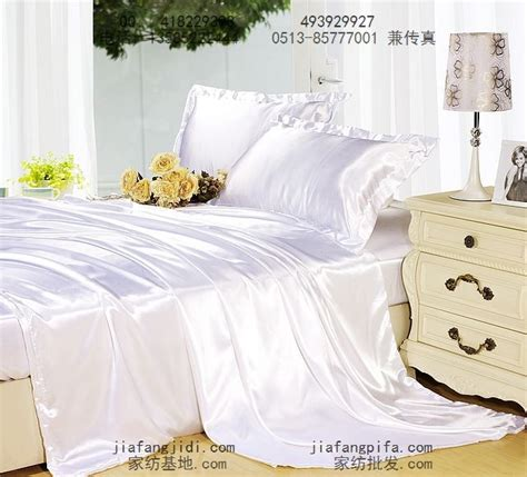 silk satin white bedding comforter set king queen size