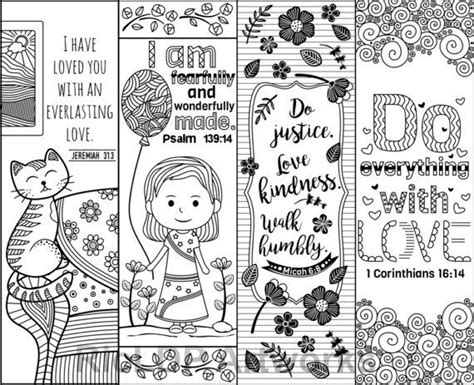 printable bible bookmarks to color printable bible verse coloring bookmarks for kids and