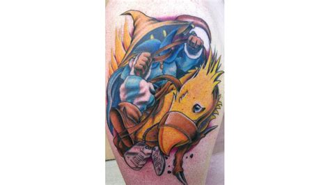 ff7 tattoo numbers a final fantasy tattoo in memory of a fallen soldier