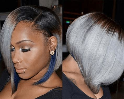grey hair weaves for african american women grey hair weave for african american hairstylegalleries com