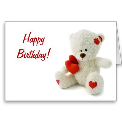 Happy Birthday Wishes Teddy Pinterest The World S Catalog Of Ideas