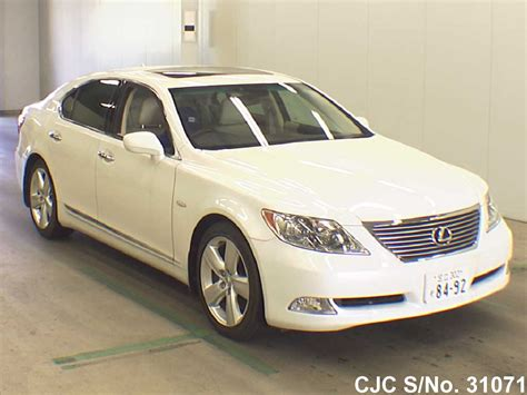 2006 lexus ls 460 pearl for sale stock no 31071 japanese used cars exporter