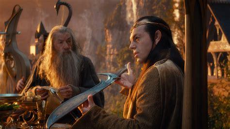 film fantasy hobbit movies gandalf the hobbit hugo weaving ian mckellen swords