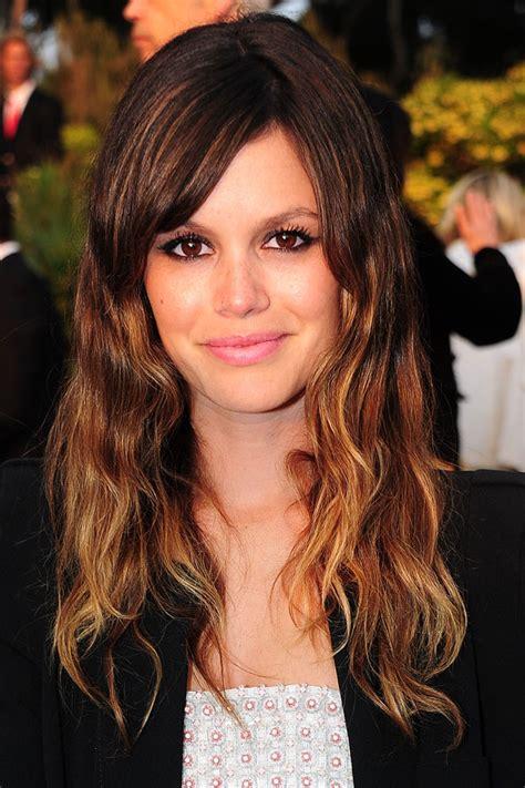 hairstyles long hair dip dye rachel bilson s dip dyed hair colour hairstyles