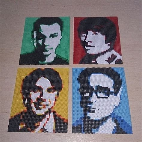 the pattern theory band 17 best images about perler bead patterns to do on