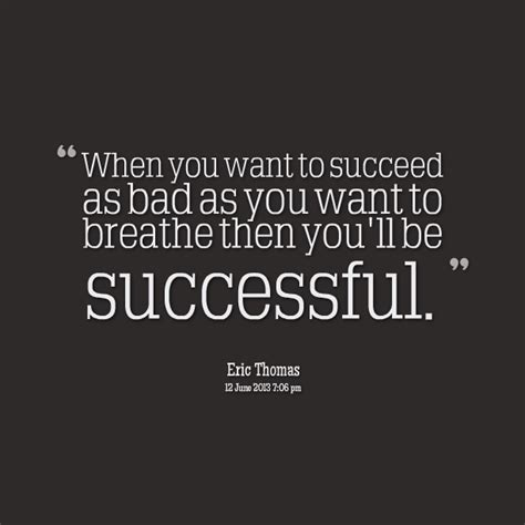 Breathe Success Quote