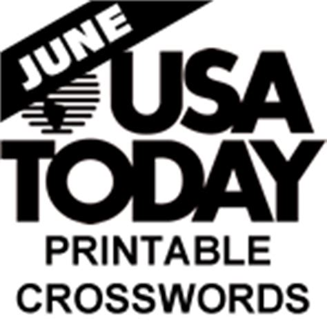 usa today crossword december 1 2014 printable usa today crosswords for june 2014