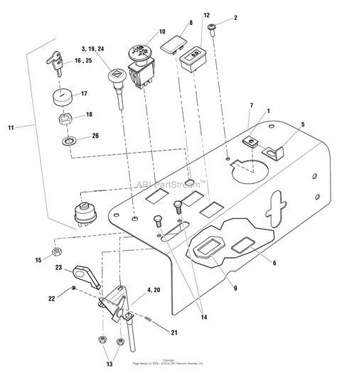 simplicity  champion  hp  turn rider   mower parts diagram  control