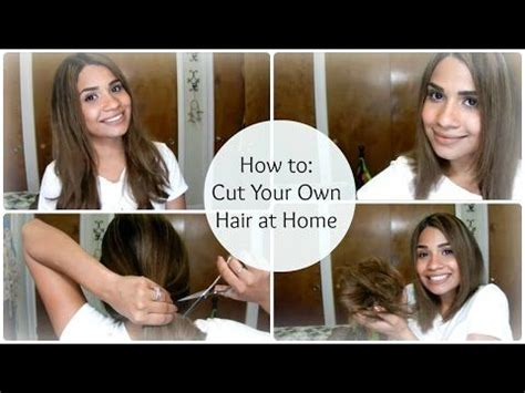 how to cut your own hair 5 hot tips how to cut your own hair at home a line long bob want