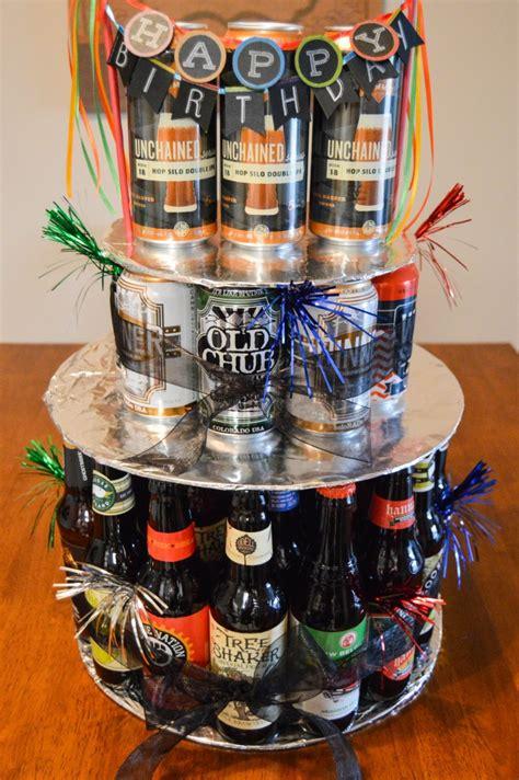 Happy Birthday Craft Beer Cake