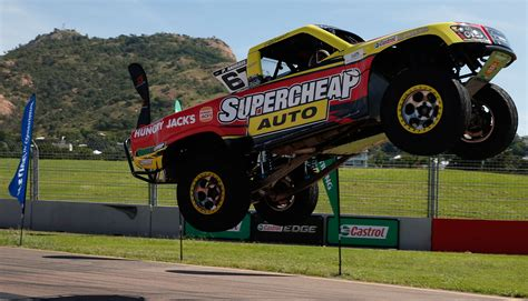 monster truck racing super the townsville undercard supercars