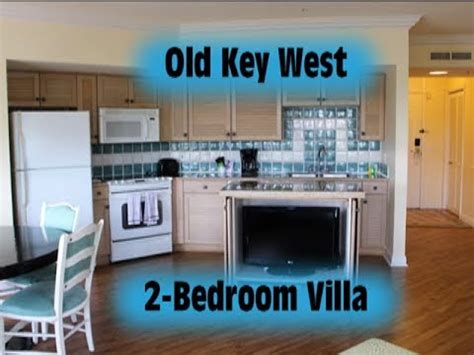 old key west 2 bedroom villa tour walt disney world youtube