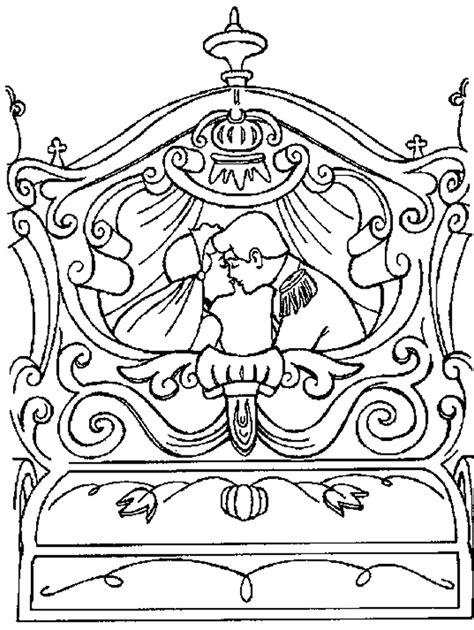 coloring pages and carriage cinderella carriage coloring pages coloring home