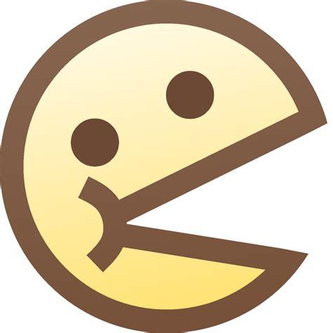 de pacman emoticon pac de de cachete grande by