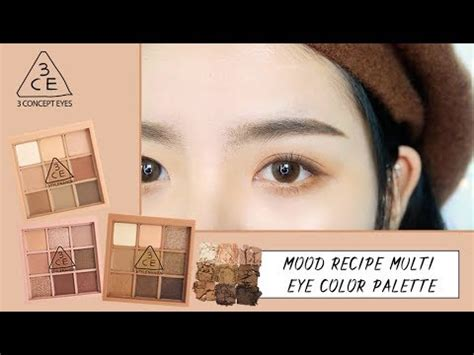Eyeshadow 3ce giveaway 3ce mood recipe multi eye color palette review