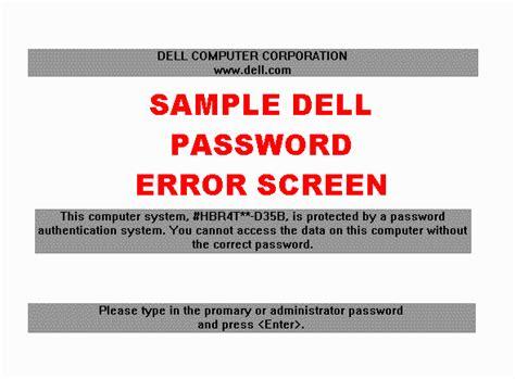 reset bios dell latitude remove admin user password of dell inspiron latitude