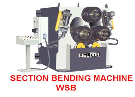 section bending machine weldor enginer pvt ltd assymetrical 3 roll mechanical