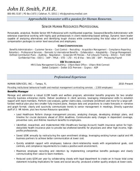 resume templates for hr executives 25 free executive resume templates pdf doc free premium templates