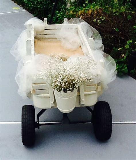 Flower girl wagon   Things I made for Meg's wedding
