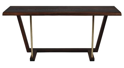 kava live edge console table 48 quot modern digs furniture