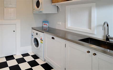 Laundry Joinery Design   laundry for devonport villa renovation joinery