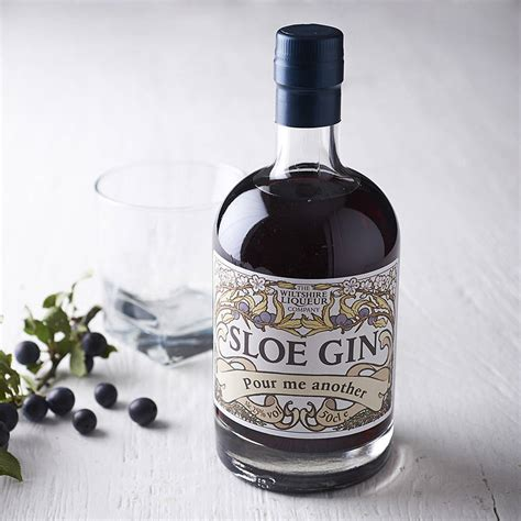 Wedding Gift Gin by Personalised Sloe Gin By Wiltshire Liqueur Company