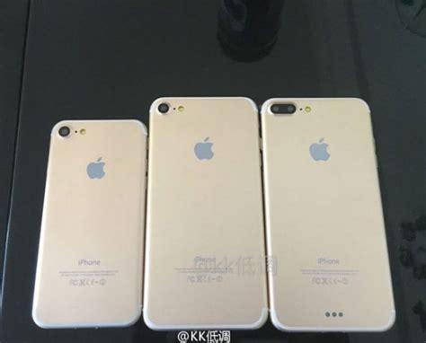 Iphone 7 N Iphone 7 iphone 7 de nouvelles photos avec trois mod 232 les cette fois