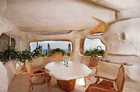 dick clark flintstone house photos the late dick clark s flintstones house gets a price