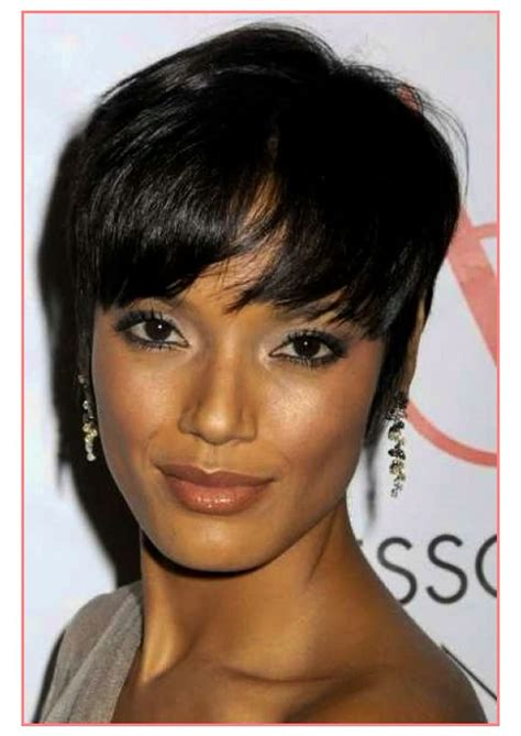 short hairstyles for women in their 40s african american most popular short hairstyles for african american women