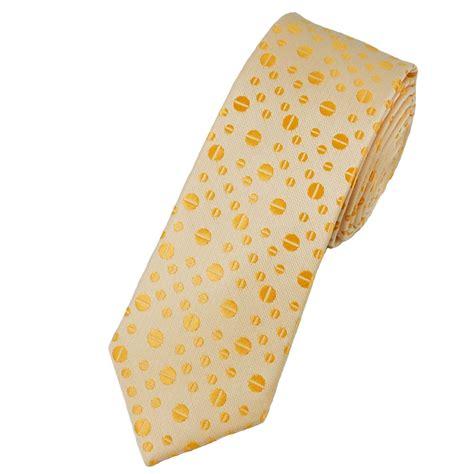 orange patterned ties pale peach orange coffee bean patterned skinny tie from uk