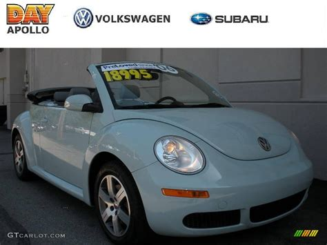 convertible volkswagen 2006 2006 aquarius blue volkswagen new beetle 2 5 convertible