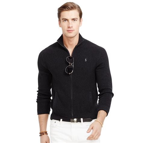 New Atitude Sweater ralph polo sweater black zipper cardigan with buttons