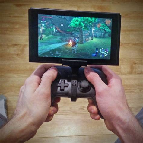 Diskon Pro Controller Switch 3d printable switch pro controller clip by jo