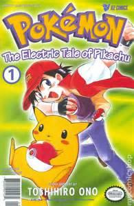 pokemon 1 electric tale pikachu 1st printing comic books