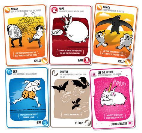 Kickstarter by Exploding Kittens Card Game Noveltystreet