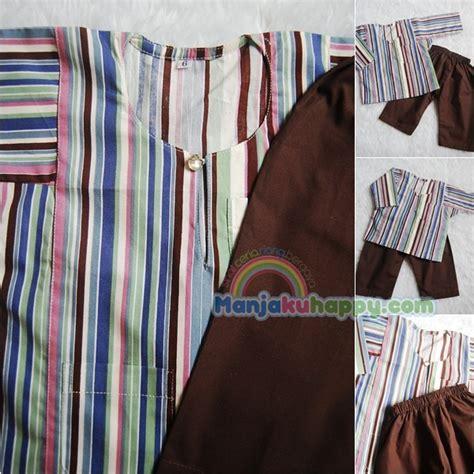 Kemeja Anak Happy Blue Grey Caplin Size 2 6th Baju Anak 1 manjakuhappy sihat ceria riang bergaya baju melayu kanak