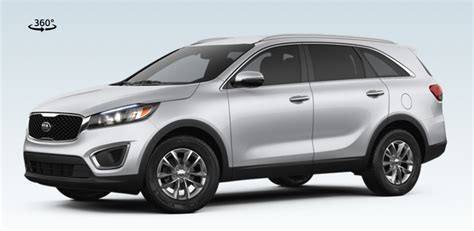 kia sorento standard features 2017 kia sorento features and exterior colors